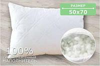 Подушка  стеганая холофайбер 50х70