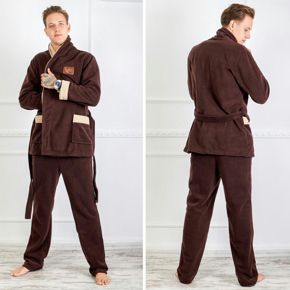 Теплый Мужской Костюм-пижама для Дома XXL (54-56) — в Категории