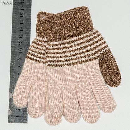 Оптом детские перчатки для мальчиков 2-4 лет - №18-3-7, фото 2