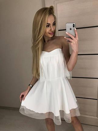 Платье со спущенными плечами, фото 2