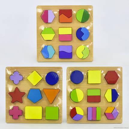 Деревянная игра Геометрика C 30330, фото 2
