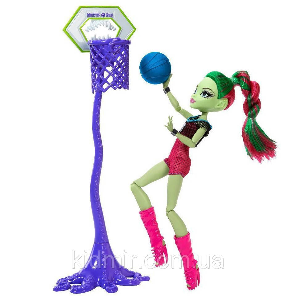 Кукла Монстр Хай Венера МакФлайтрап Monster High Venus Mc Flytrap Casketball Champ