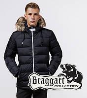 Braggart Aggressive 38268 | Зимняя куртка для мужчин т.синий-белый