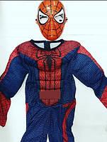 Костюм Spiderman Карнавальный костюм с мышцами Человека паука.