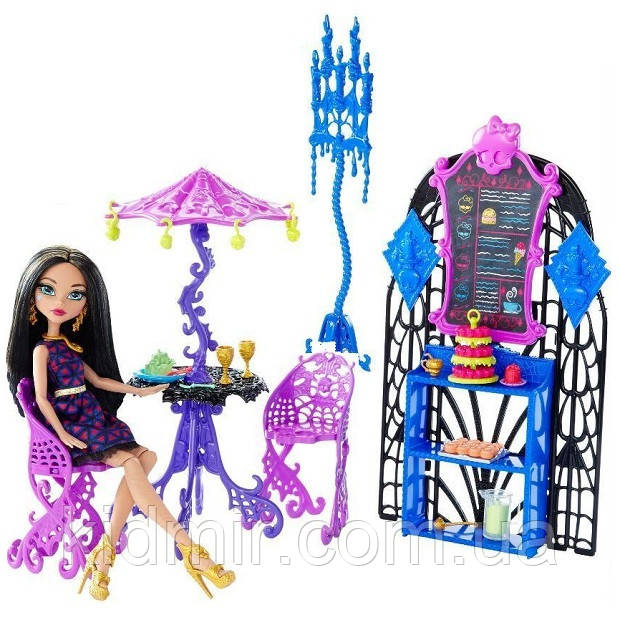 Набор Монстр Хай Кафе и Клео де Нил Monster High Cleo De Nile Scream & Sugar Cafe