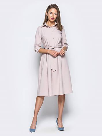 Плаття-міді в стилі ретро з костюмної тканини 49026 1 розмір 44 b212689b51eab
