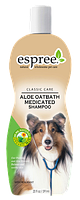Espree Aloe Oat bath Medicated Shampoo, 591 мл - успокаивающий шампунь из овса и алоэ для собак