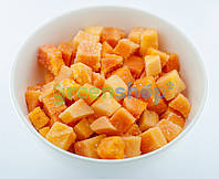 Папайя кубик замороженная (0,5 кг)   А-0054