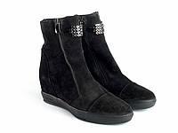 Ботинки Etor 6442-01058 36 черные, фото 1