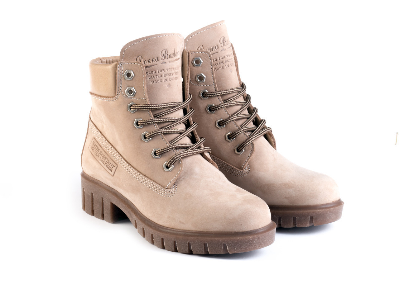 Ботинки Etor 5169-021554-832 40 бежевые