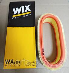 Воздушный фильтр Renault Sandero (Wix WA6697)(среднее качество)