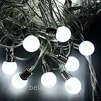 """Новогодняя гирлянда фасадная и внутренняя """"Яркие лампочки"""" от сети, фото 1"""
