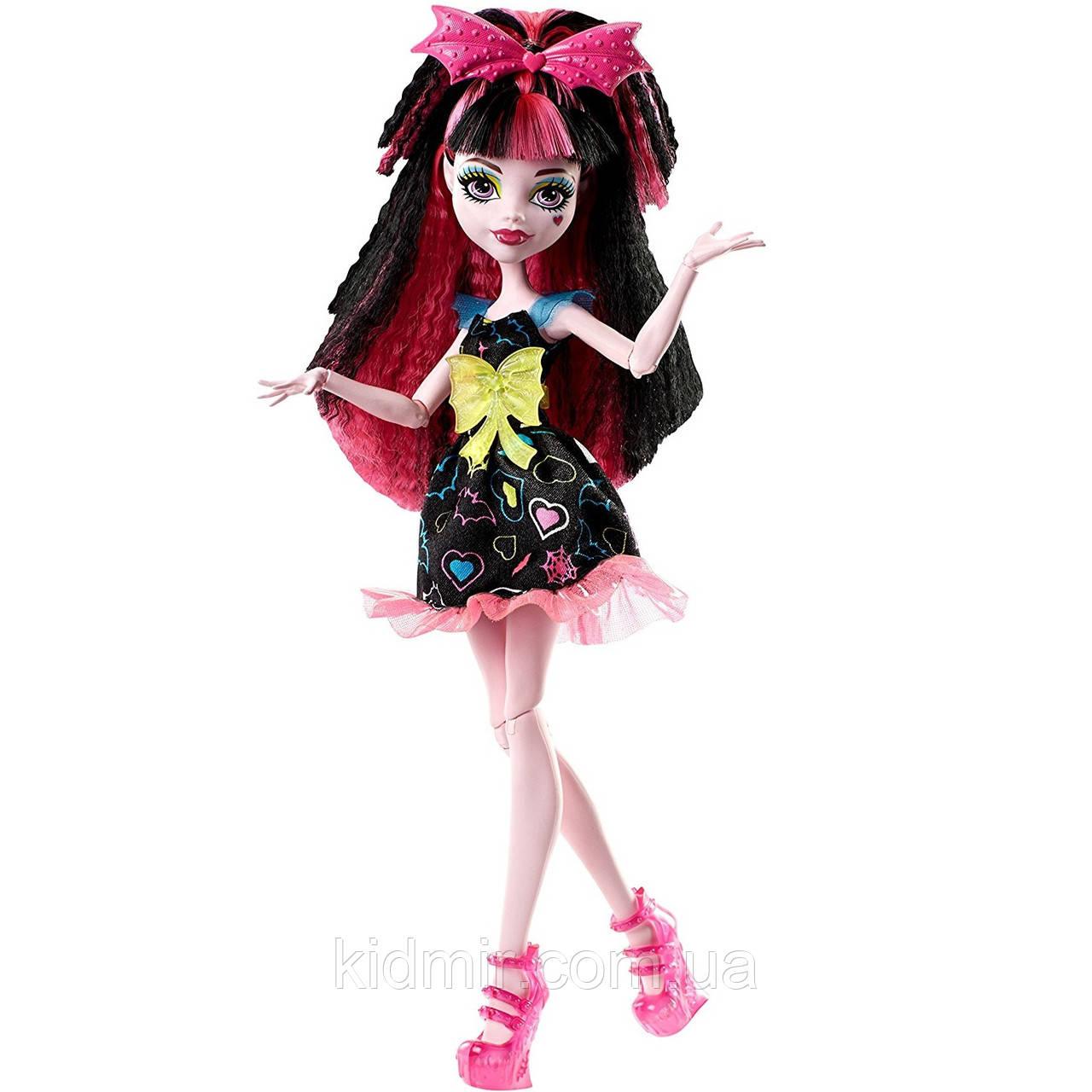 Кукла Monster High Дракулаура (Draculaura) из серии Electrified Монстр Хай