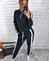 Женский спортивный костюм с лампасами, фото 1