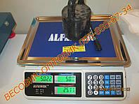 Весы торговые электронные Alfasonic ACS-A-072 до 50кг (дел. 2г)