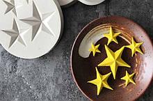 "Молд кондитерский ""Звездочки"" - диаметр молда 8см, силикон"