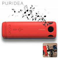 Портативная акустика PURIDEA i2 Bluetooth Speaker Red, фото 1