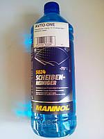 Жидкость бачка омывателя 1л зима -70C MANNOL