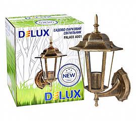 Светильник садово-парковый PALACE A001 60Вт Е27 черный-золото