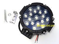 Дополнительная светодиодная фара 103 51W S, фото 1