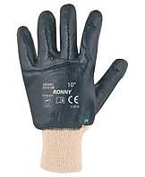Перчатки трикотажные RONNY с полным нитриловым покрытием (Чехия)