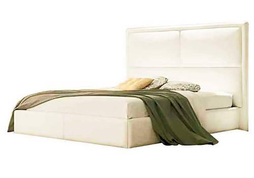 Ліжко з м'якою спинкою з підйомним механізмом Рокфорд (160 х 200) КІМ