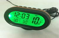 Lcd автомобильные часы с функцией будильника. 7009v 95х65х72