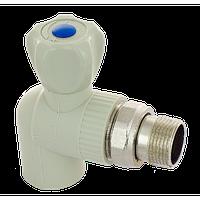 FADO ПП Кран радиаторный угловой 20 1/2 холод воды