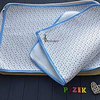 Пеленка-клеенка непромокаемая многоразовая голубая, фото 1