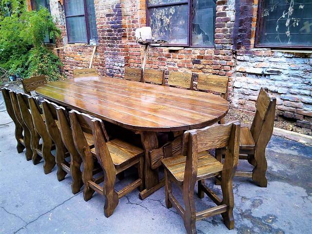 Деревянная мебель под старину цена фото