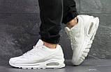 Белые мужские кроссовки Nike Air Max, фото 2