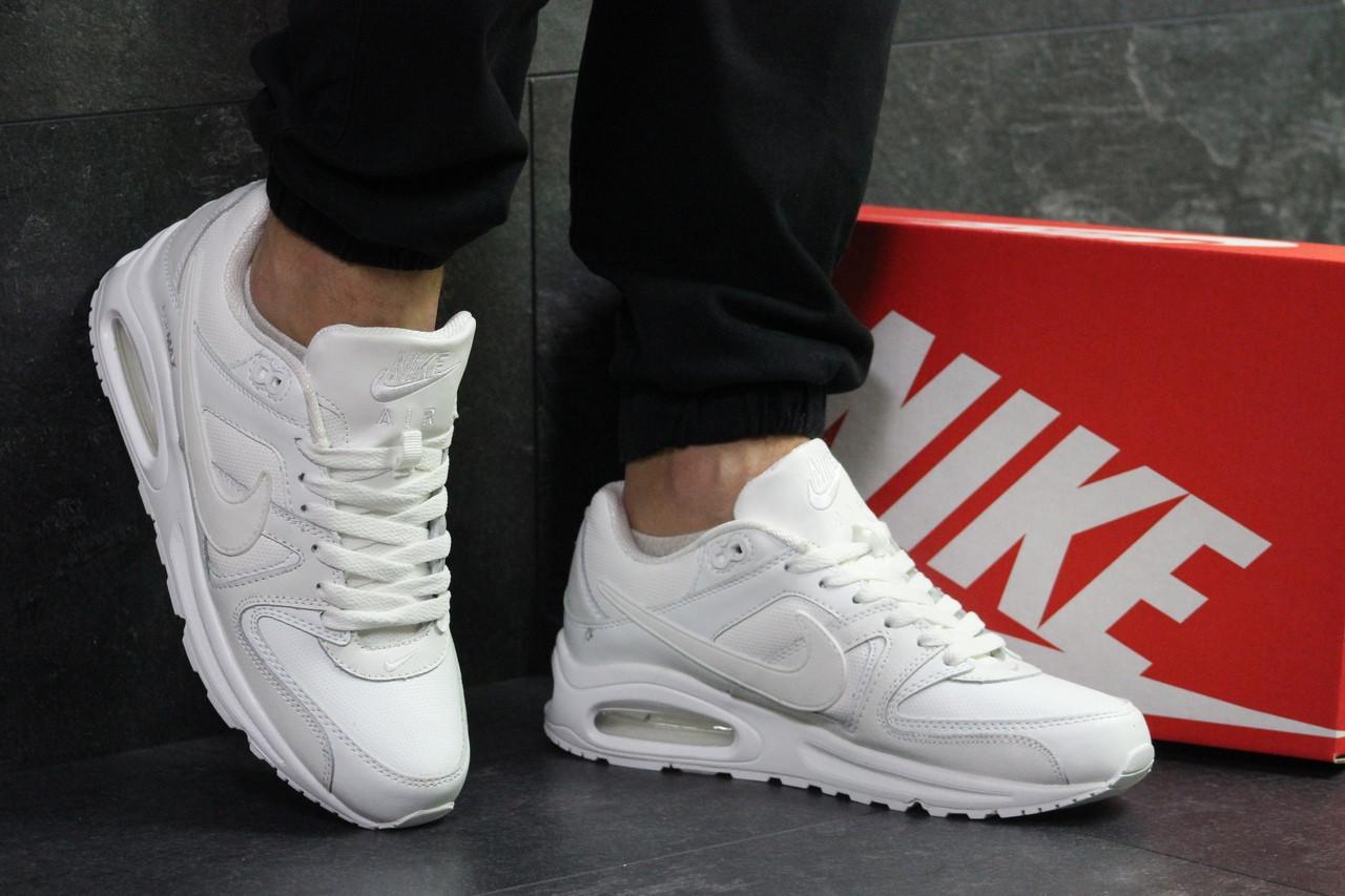 Белые мужские кроссовки Nike Air Max