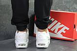 Белые мужские кроссовки Nike Air Max, фото 3