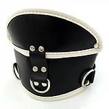 Черный-красный медицинский корсет для шеи Deluxe Padded, фото 2