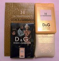 Женский мини-парфюм Dolce&Gabbana 14 La Temperance