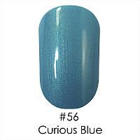Гель-лак Naomi (Наоми) 6 мл №56 нежный бирюзово-зеленый