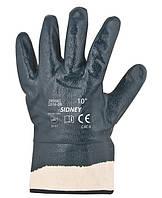 Перчатки трикотажные SIDNEY с нитриловым покрытием (Чехия)