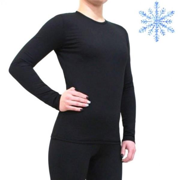Термокофта женская FIREPOWER Polarflis-Stretch Черная