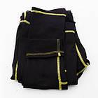 Термобелье детское для мальчиков FIREPOWER Sport Polarflis-Stretch Черное с желтым, фото 4