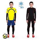 Термобелье детское для мальчиков FIREPOWER Sport Polarflis-Stretch Черное с красным, фото 2