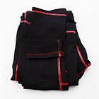 Термобелье детское для девочек FIREPOWER Polarflis-Stretch Черное с красным, фото 2