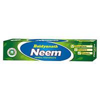 Зубная паста Ниим Бадьянатх, Baidyanath Neem Toothpaste, 50г