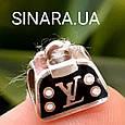 Серебряный подвес шарм Pandora Сумочка LV - Сумочка Луи Вуитон шарм серебро 925, фото 2