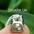 Серебряный подвес шарм Pandora Сумочка LV - Сумочка Луи Вуитон шарм серебро 925, фото 4