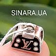 Серебряный подвес шарм Pandora Сумочка LV - Сумочка Луи Вуитон шарм серебро 925, фото 3