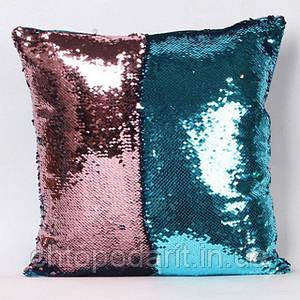 Подушка з паєтками Код 10-4283