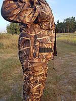 Демисезонный камуфляжный костюм для охоты и рыбалки Сухой камыш
