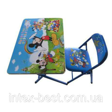 Детский складной столик Микки Маус DT 18 A2, фото 2