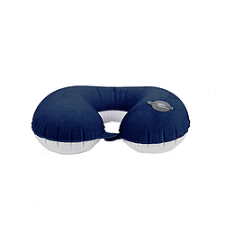 Надувная подушка для путешествий Remax Neck Pillow RT-SP03 Blue
