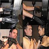 Черный бондаж с замками, фото 2
